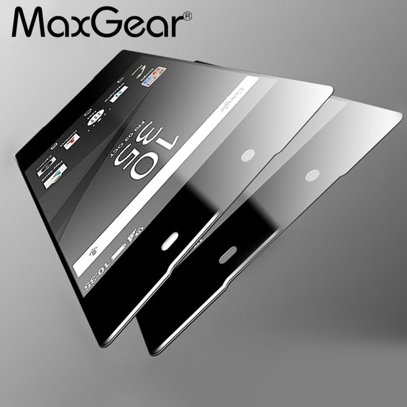0.3mm 9H Front + Back Rear Tempered Glass For Sony Xperia Z1 Z2 Z3 Z4 Z5 Compact Premium Screen Protector Anti Shatter Film