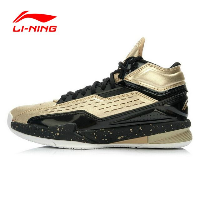 Li-Ning Outdoor Basketball Shoes Bounse Techonology Lace Up Height Increasing Damping Sneakers Sport Basket Homme ABAJ019 XYL013