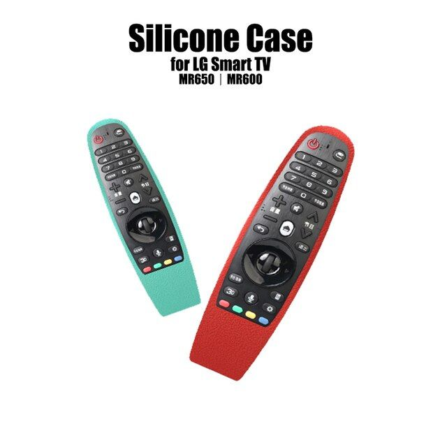 SIKAI New Design Silicone Case For LG Smart TV AN-MR600 Remote Controller Cover For LG MR650 TV Remote Case For LG MR600 Remote