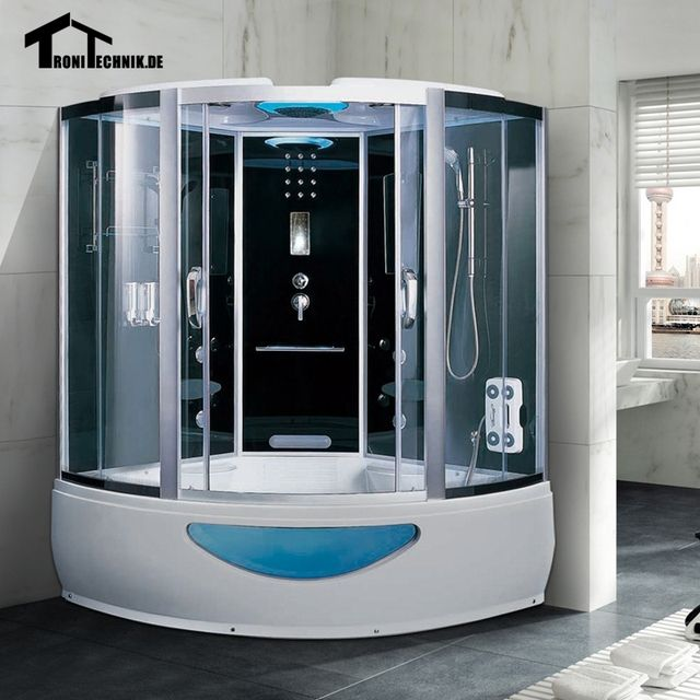 1500mm Steam Shower cabin massage Bath Corner Cabin Cubicle Enclosure Room glass sliding doors walking-in sauna rooms K18