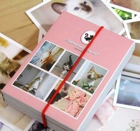 40Pcs Postcards With 11Pcs Stamp Set Vintage Lovely Girl&Cat Wooden Rubber Stamp Scrapbooking Craft Diary Postcard DIY Set Decor