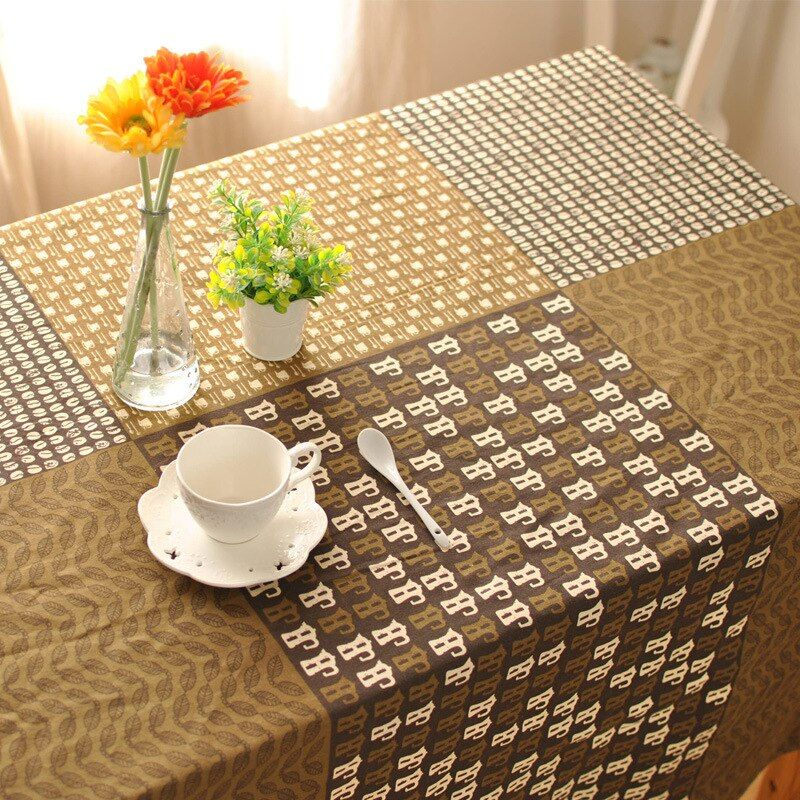 zakka Japanese cotton cloth restaurant bar cafe decorative table cloth