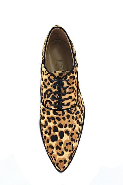 LTTL Designer men Lace-up loafers low heel Pointed Toe shoes men leopard shoes mary janes casual zapatillas hombre
