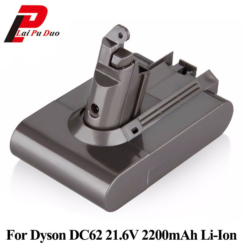 21.6V 2200mAh Li-Ion Replacement Vacuum cleaner battery for Dyson DC58 DC59 DC61 DC62 V6 965874-02 Rechargeable battery Batteria