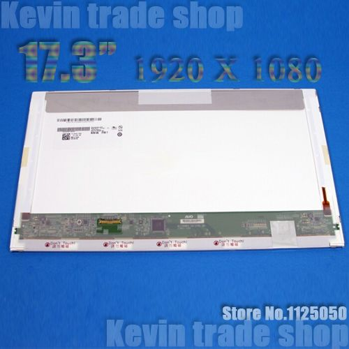 17.3 inch laptop lcd screen 1920*1080 For ASUS G73JW G74S G74SX Toshibai X770 HP CQ71 G71 DELL M17X LED display matrix panel