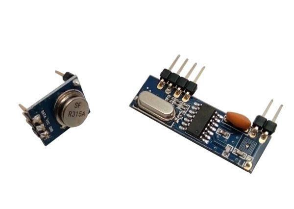 10sets rf antenna modules 315MHz ASK transmitter and Superheterodyne receiver module with soldered pin and spring antenna