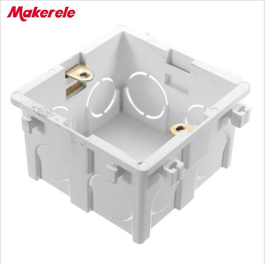 Wallpad For 86*86mm Wall Switch & Socket Mounting Plastic Electrical Junction Back Box Mounting Box  Quality Choice