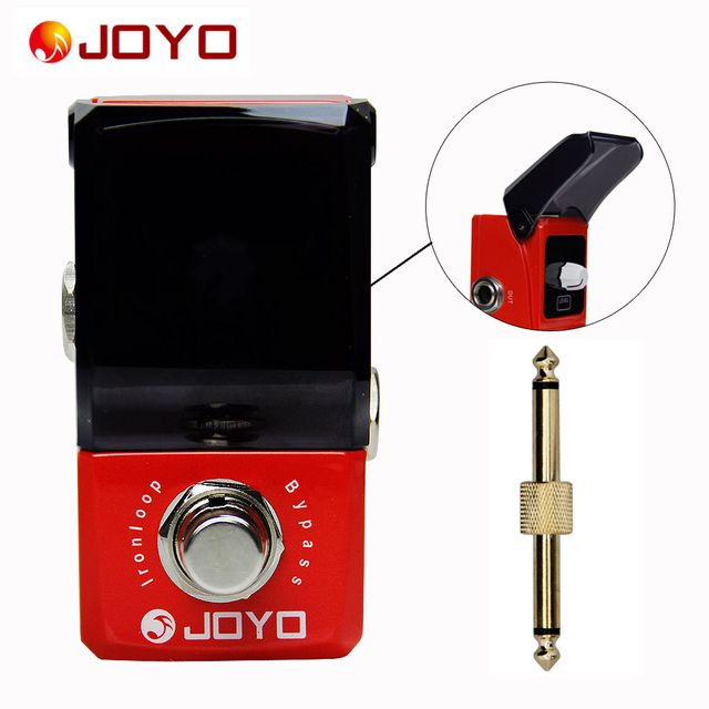 JOYO JF-329 Ironman series mini pedals  Iron loop Guitar pedal Guitar Effect Pedal with One 1 PC Pedal Connector