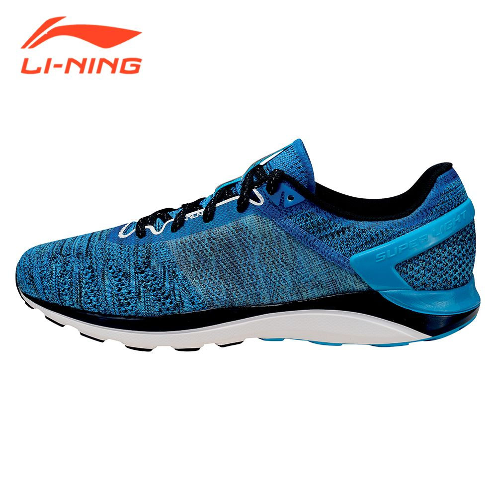 Li-Ning Brand Men's Light-weight Running Shoes Cushion Sneakers Summer Breathable Super Light Series LiNing Sport Shoes ARBM019