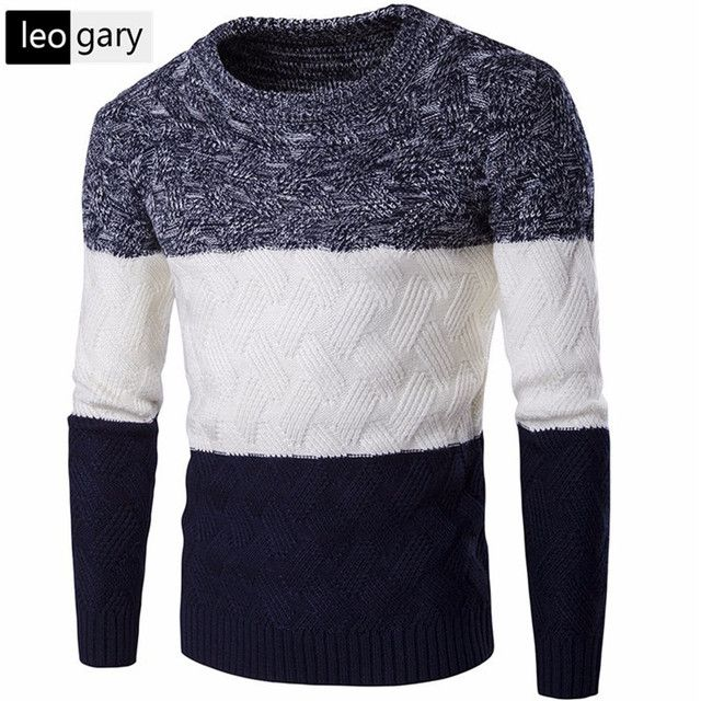 European Style Business Men Sweaters Casual Slim Fit Thick Men's Long Sleeve Knitted Pullovers christmas sweater men