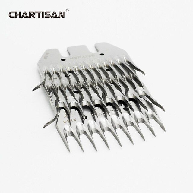 BEIYUAN Sheep Goats Shearing Clipper 9 or 13 Tooth Comb Blade Alternative Shears Scissors