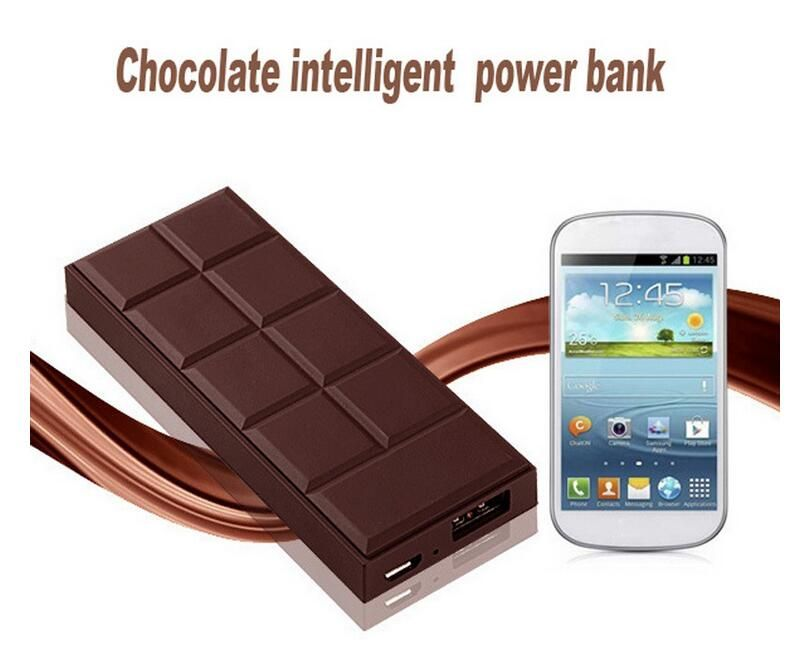 Chocolate Style Ultra-thin 5600mah USB output Powerbank Case Portable Power Bank for Samsung/Sony/HTC/iphone Android System