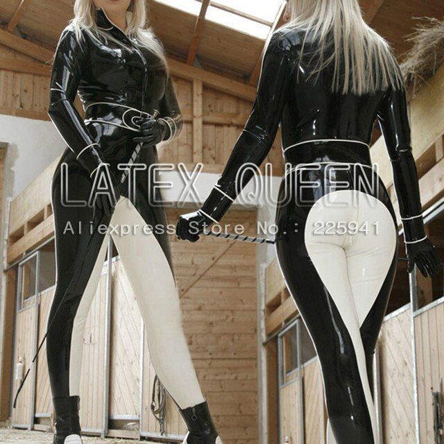 Latex Catsuits jumpsuit