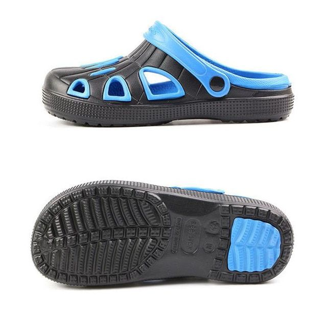 2017 Mens sandals casual lazy cool summer clog Slipper new style vacation hole Shoes for men