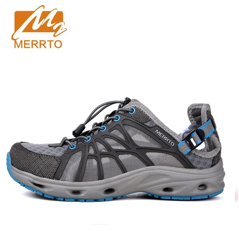 MERRTO   New Brand Men Beach Water Shoes Aqua Sandals  Upstream Fishing Wading Shoes  For Water  Breathable Sneakers   #18375