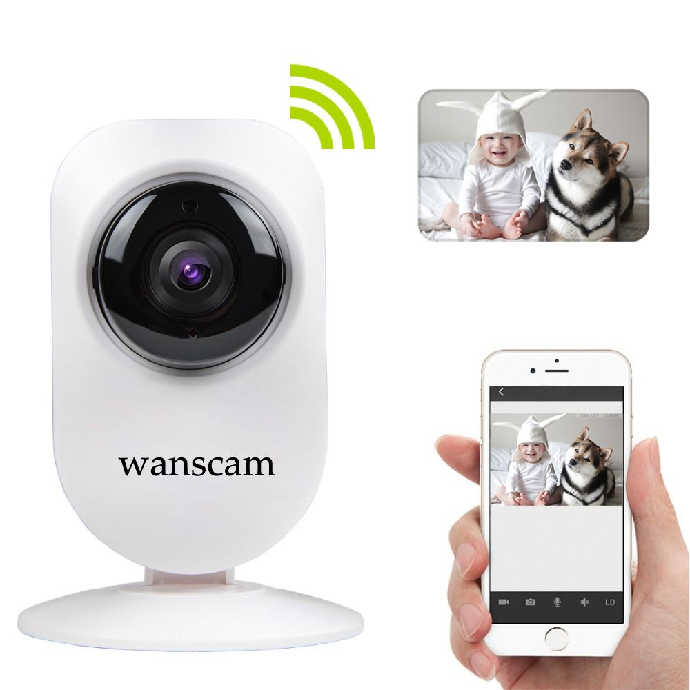 Wireless IP Camera Two Way Audio Cloud Storage Baby Wifi Mini Camera Monitor Wireless Home Security Network Baby Monitor HW0026