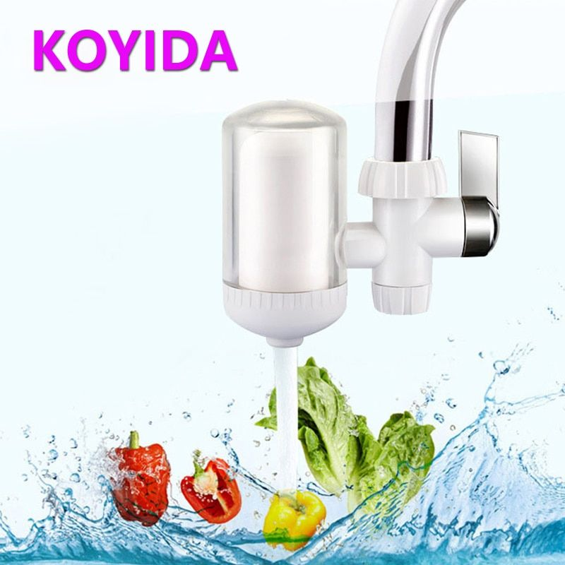 KOYIDA Water Purifier Faucet Tap Water Filter ABS Filter Tube Ceramic Filter Kitchen Faucets Accessories filtro grifo W291