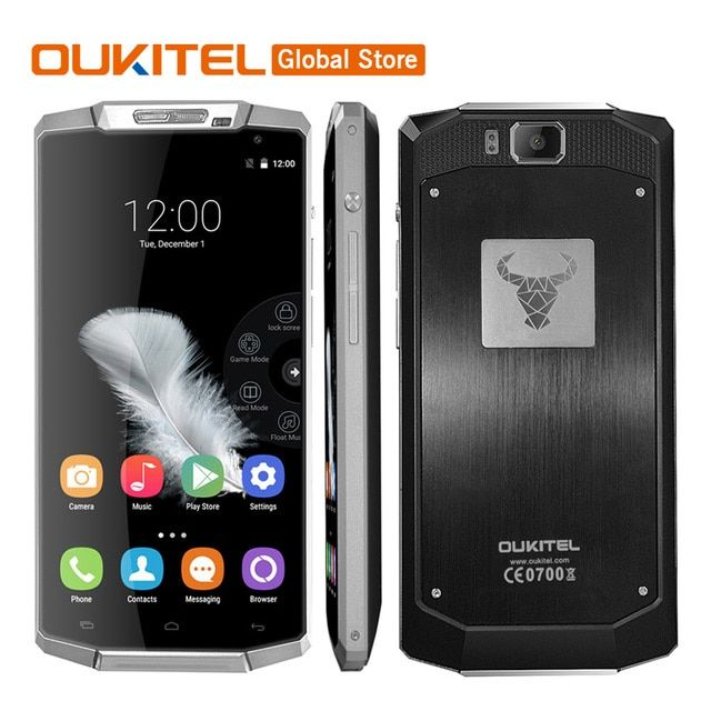 Original In Stock Oukitel K10000 Android 5.1 Lollipop 5.5Inch 10000mAh Battery 2G RAM 16G ROM 13.0MP Camera  4G LTE Mobile Phone