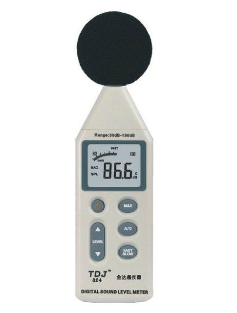 TDJ-824  High quality refrigerator noise tester, Air conditioning Noise meter,decibel meter, sound level meter