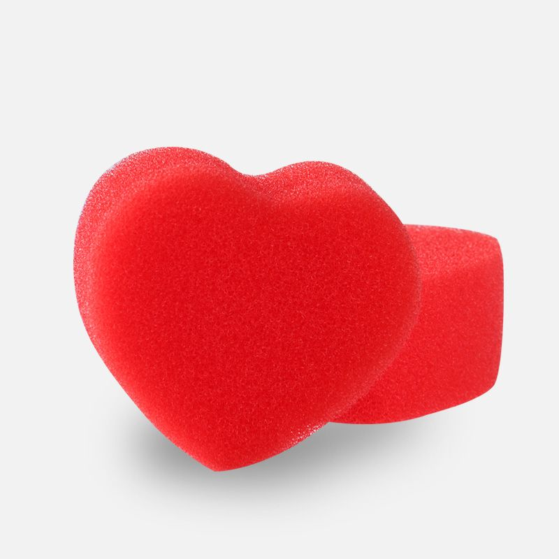 Sponge Heart magic sponge magic props a pair of hearts magic tricks two hearts magic tricks
