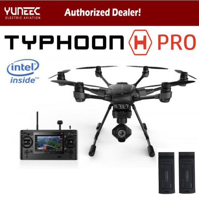 Wingsland Yuneec Typhoon H 480 PRO Drone with Camera HD 4K RC Quadcopter RTF 3-Axis 360 Gimbal vs DJI Inspire 2 Mavic Pro
