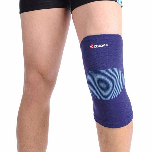 1 Piece Knee Protector Pads Warm CAMEWIN Brand High Elasticity Knee Support Relieve Arthritis Gym Sports Outdoor Guard Kneepad