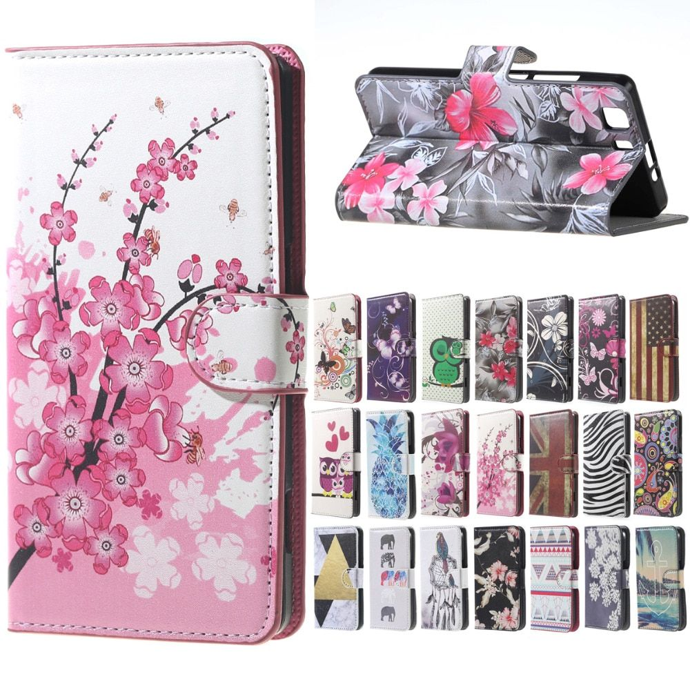 funda doogee x5 Case Pink Plum Magnetic Leather Wallet Handbag Book Cover Case For Flip coque doogee x5 PRO Mobile Phone Cases