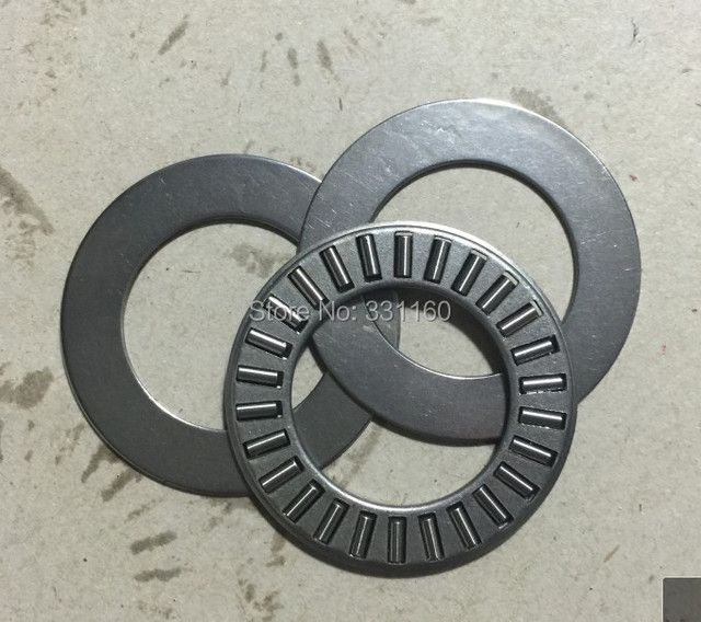 10pcs Thrust needle roller bearing with two washers NTA1625+2TRA1625 Size is 25.4*39.67* ( 1.984+2*0.8 ) mm,TC1625