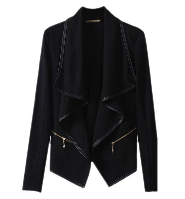 Free shipping women fashion PU leather zippers wadded jacket women winter long sleeve coat 3F24046 black fashion women coat