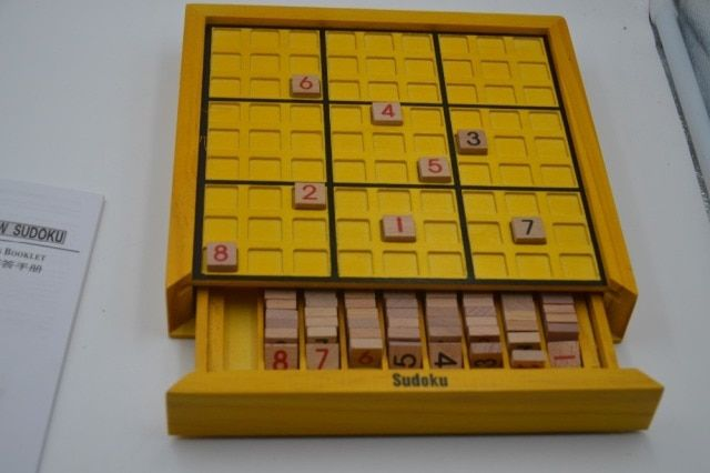 Sudoku Puzzle Wooden Toys Highly Logic Number Puzzle Board Game Educational Toy for Children Adult Logical Thinking