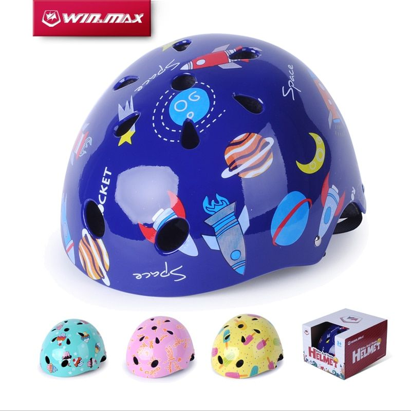 WINMAX Cycling Accessories Skate Skateboard Capacete Ciclism Bike Bicycle Skate Protection Chrildren Cycling Helmet for Kids