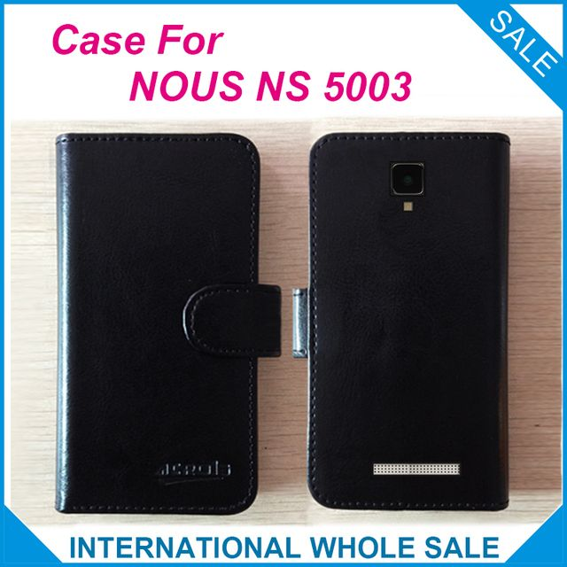 6 Colors Hot! NOUS NS 5003 Case Phone,High Quality Leather Exclusive Case For NOUS NS 5003 Cover Phone Bag Tracking