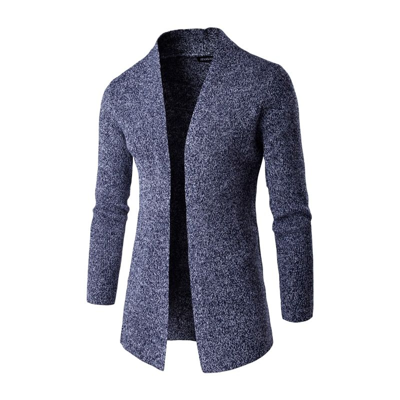 In the autumn of 2016 new fashion stylist Metrosexual leisure jacket Mens sweater collar cardigan sweater
