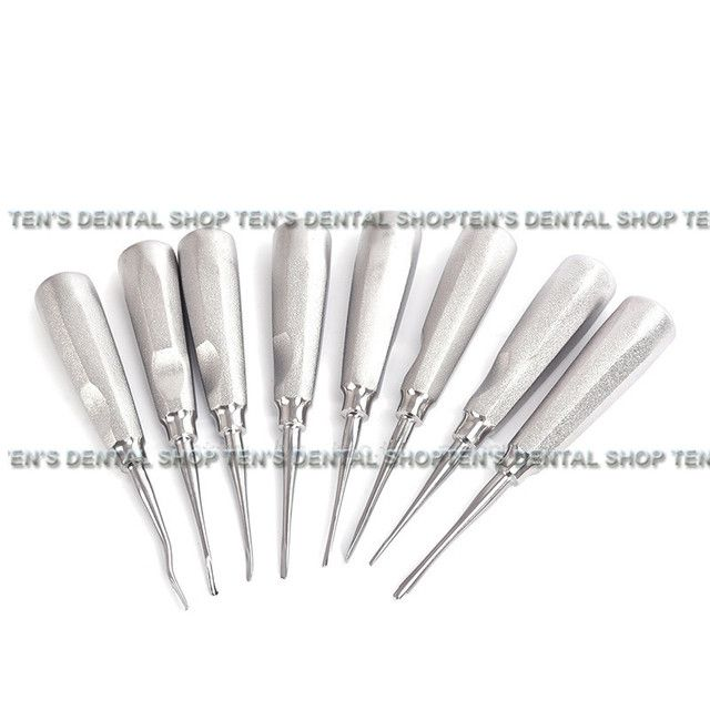 High Quality 2018 New 8pcs Dental elevator kit Dental Orthodontic Oral Surgery Elevators Surgical Instrument lab dentistry