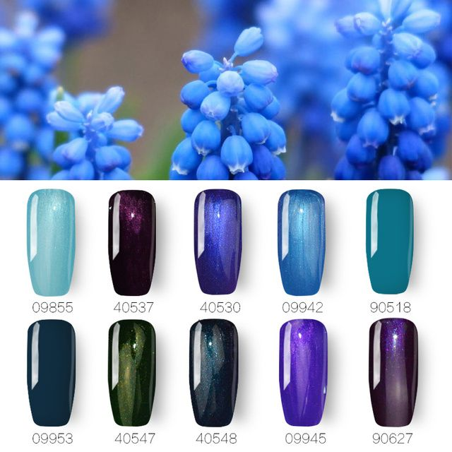 10pcs/lot Ibcccndc UV LED Nail Gel Polish Soak Off Vernis Semi Permanent Top Base Coat Gel Lak Gelpolish Varnish Shilak