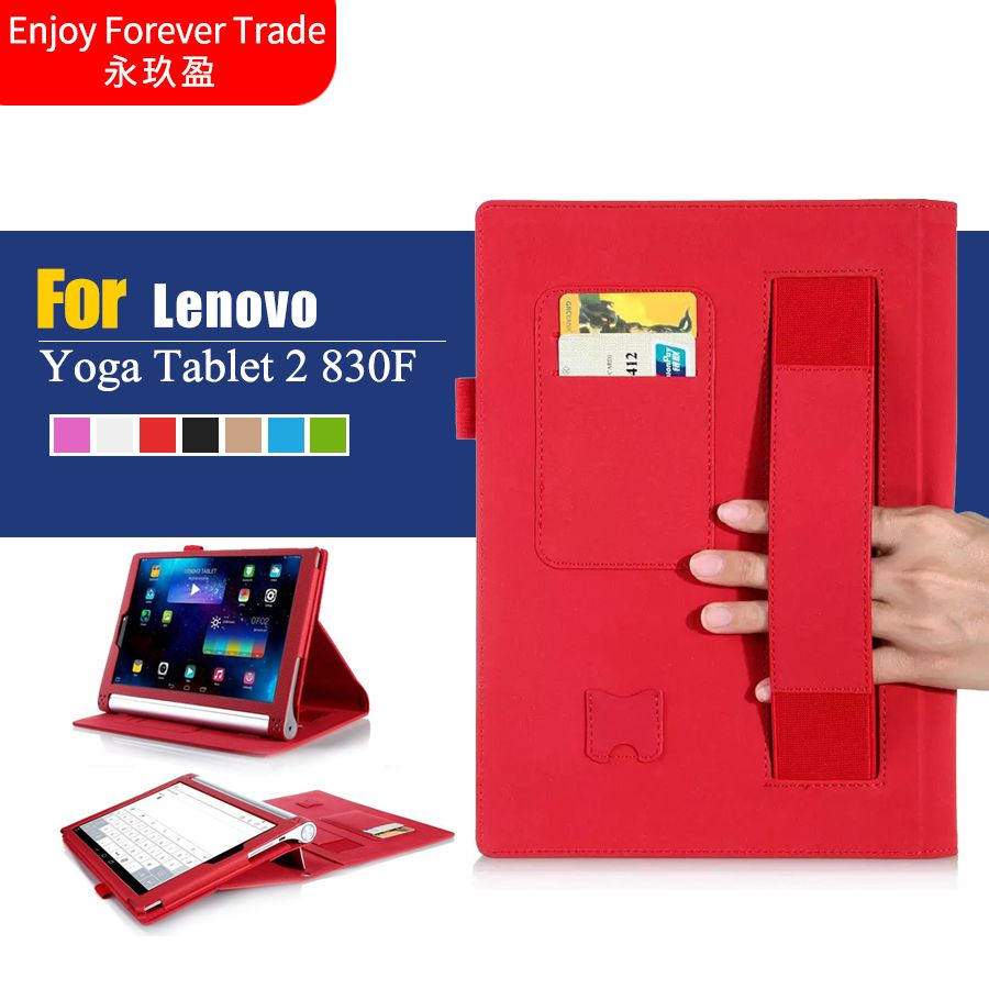 For Lenovo Yoga 2 Tablet 830F For lenovo yoga 2 830L 8 inch tablet cover case For Lenovo Yoga2 case with stand card slot holder