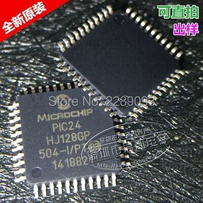 Free Shipping!PIC24HJ128GP504-I/PT PIC24 HJ128GP 504-I/PT 16-bit Microcontrollers (up to 128 KB Flash and 8K SRAM)