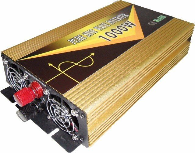 1000 watt Peak 2000w Inverter 12v 220v Pure Sine Wave dc12V to ac220V 230V