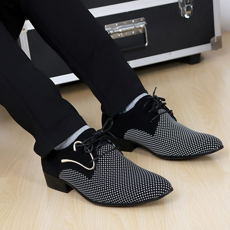 Hot sale! 2016 New Fashion Men PU Leather Shoes male Flats High Quality Men Shoes Oxford Shoes Free shipping