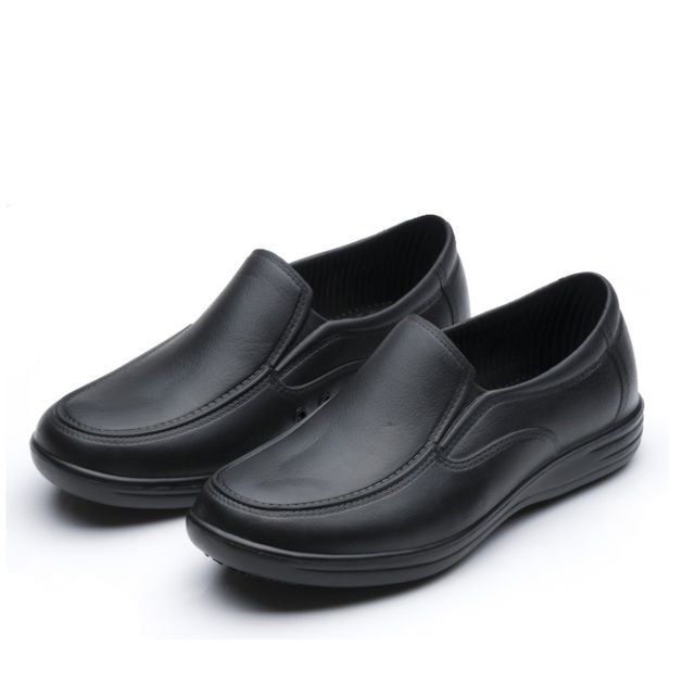 2017 male chef shoes 9023 men shoes cook black flats kitchen work shoes non-slip super anti-skidding hospital shoes size 39-44