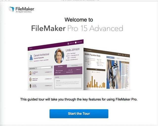 FileMaker Pro Advanced 15 for win+mac include Training video