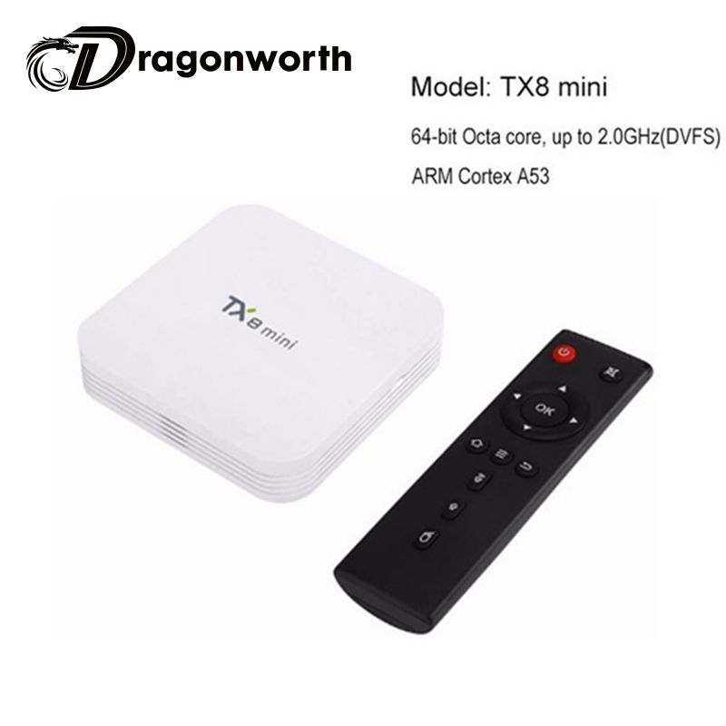 Android TV Box TX8 mini Amlogic S912 Android6.0 Marshmallow TV BOX 2G/16G 802.11ac 1000M LAN WIFI Bluetooth Set Top Box