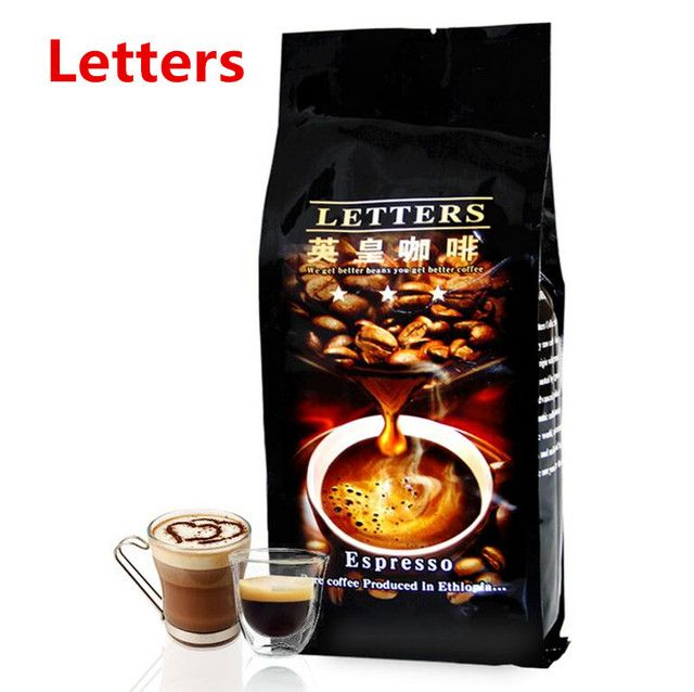 Free shipping 454g High-quality Italian coffee beans Original green food slimming coffee Special concentration Espresso