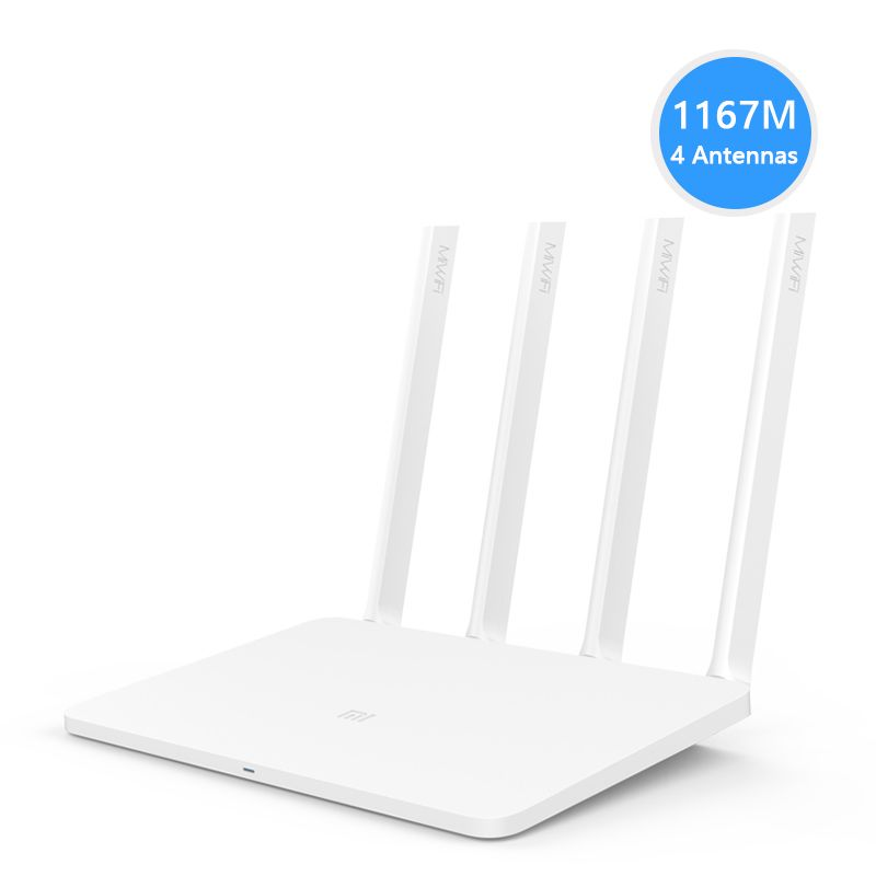 Original Xiaomi Mi Smart WiFi Router 3 with 2.4G/5G WIFI 802.11ac USB Storage 4 antennas