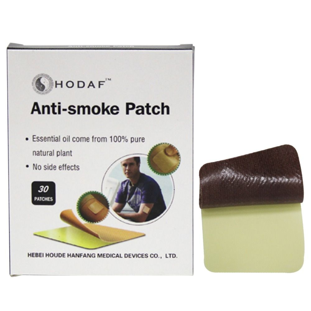 30pcs/ box 4*4cm Stop Smoking Patches Health Care Product Smoking Cessation
