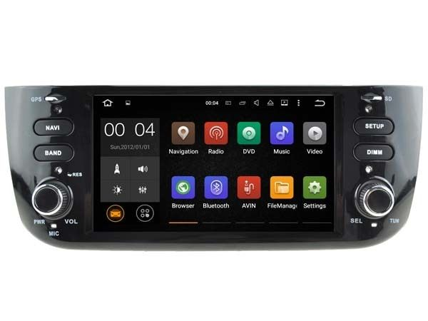 Pure Android 8.1 System For Fiat Punto Linea Abarth EVO 2012+ Autoradio GPS Car Stereo System Media Multimedia ( NO DVD )