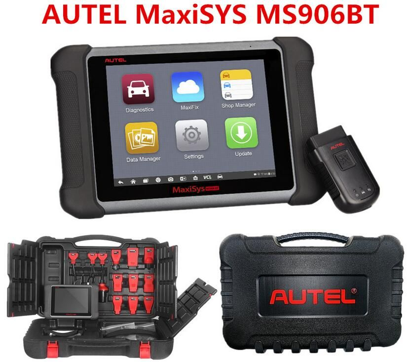 Wireless Autel MaxiSys MS906BT MaxiSys MS906 BT Auto Diagnostic Scanner