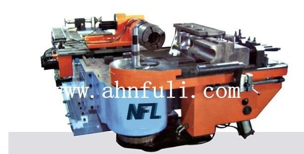 W27YPC-219 tube bending machine, hydraulic pipe bender, hydraulic pipe bending machine