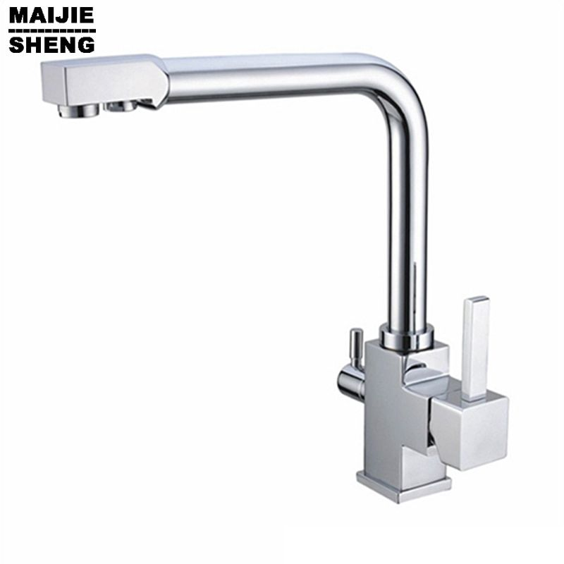 2015 Ceramic Torneira Limited for Thermostatic Faucets None Kitchen Tap Ro Drinking Warter, Hot/cold Water Mixer 3 Way Faucet