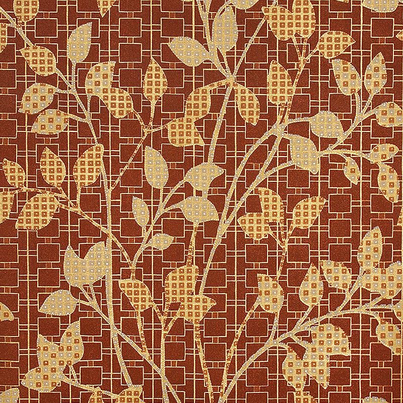 Chinese Retro Leaf 3D Wallpaper Southeast Asian Style Background Wallpaper PVC Waterproof Wallpaper Roll Living Room Wallpaper